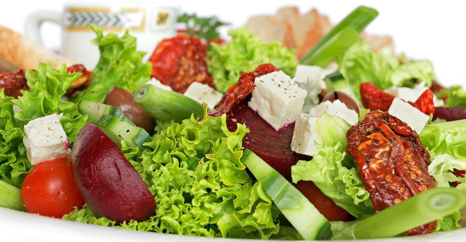 Qué se considera régimen saludable de alimentación