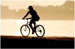 Precausion al manejar bicicleta