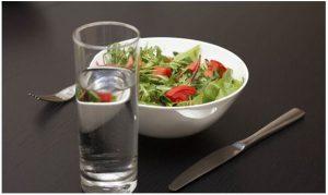 Importancia del agua en las dietas