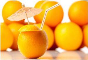 Para que sirve el zumo de naranja
