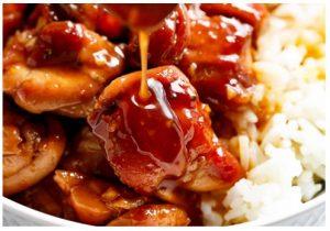 Ingredientes de la receta de pollo teriyaki