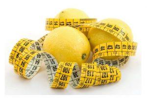 Alimentos de la dieta del limón