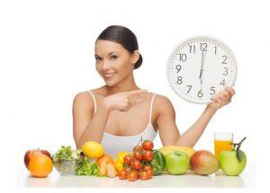 Beneficios del horario de las comidas